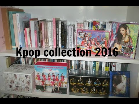 Kpop Girl Group Album Collection (End of 2016)