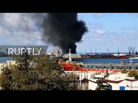 Libya: Port of Tripoli hit in missile attack by Haftar forces