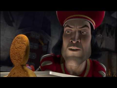 ¿Tu Conoces a Pin Pon? Shrek 1 (galletita de jengibre)HD películas que parodian la fantasía