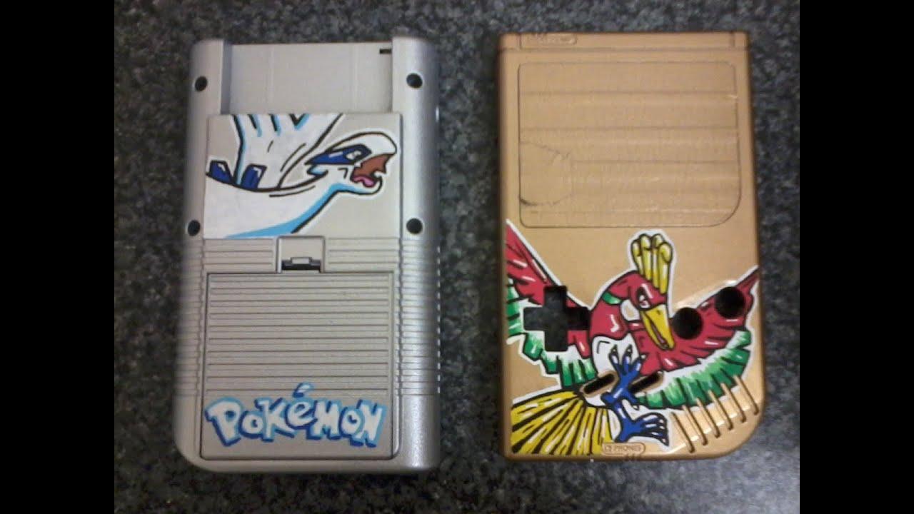 Custom Painted Pokemon Gameboy