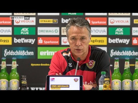 20. Spieltag | SVS - SGD | Pressekonferenz vor dem Spiel