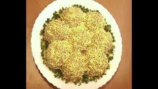 Люблю готовить! Салат РЫБНЫЕ ШАРИКИ! Салат из консервированной рыбы