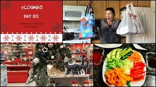 Trader Joes, TJ Maxx & Target HAUL! | What I Ate Today! | VLOGMAS DAY 3!