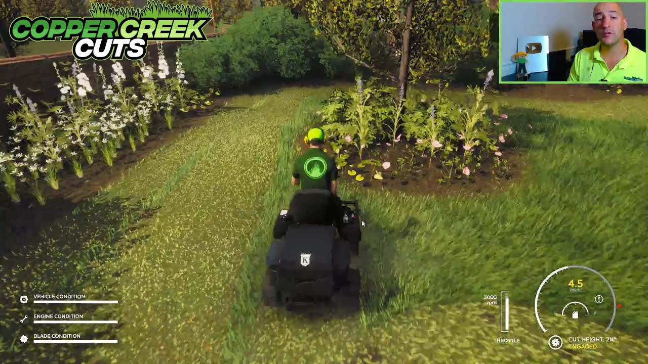 Lawn Mowing Simulator Teaches You How To Quote Landscape Installs