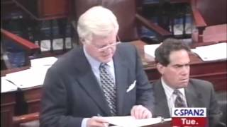Senator Ted Kennedy - Opposition to DOMA Free HD Video