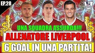 6 GOAL IN UNA PARTITA!! QUESTA SQUADRA É TROPPO FORTE!! FIFA 18 CARRIERA ALLENATORE LIVERPOOL #28