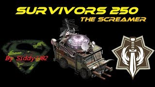 War Commander - Survivors (250) The Screamer Boss Base.