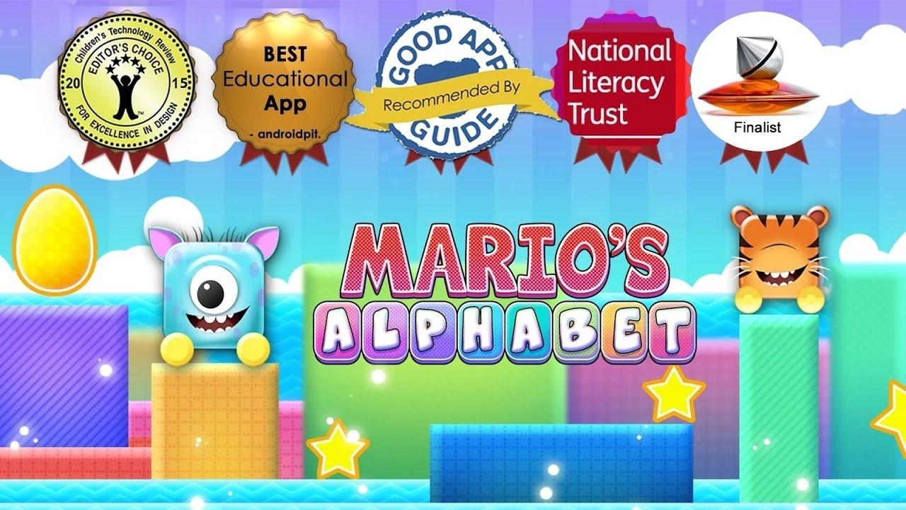 Learn to Read Mario Alphabet