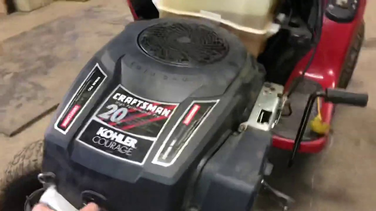 How To Easily Remove A Spark Plug On A Kohler Courage 20 Hp Youtube