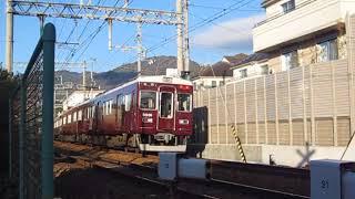 阪急神戸線 5000系5001F 特急 阪急梅田 行 岡本~御影 通過