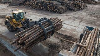 Опыт эксплуатации техники Volvo на лесоперерабатывающем предприятии в Архангельске(ЗАО «Лесозавод 25» — одно из старейших предприятий Архангельской области. Eго историей может гордиться..., 2014-12-18T13:33:58.000Z)
