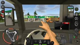 Euro truck simulator 18 - mój pierwszy film na youtube 🚚