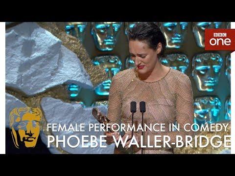 Phoebe WallerBridge wins best Female Comedy performance: The British Academy Television Awards 2017