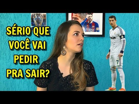 MERCADO DA BOLA - CRISTIANO RONALDO VAI SAIR DO REAL MADRID? thumbnail