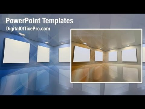 Virtual gallery powerpoint template backgrounds digitalofficepro virtual gallery powerpoint template backgrounds digitalofficepro 07184w toneelgroepblik Image collections