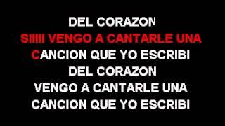 Raulin Rodriguez - Cancion Del Corazon Karaoke .avi
