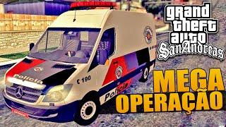 GTA Policia - Mega Operação Policial
