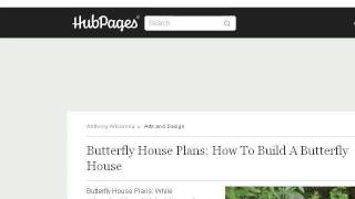 How-to Build A Butterfly House