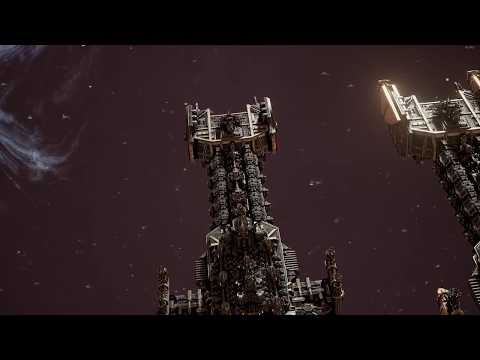 Battlefleet Gothic Armada - Space Marines vs Ork Pirates Skirmish gameplay |