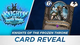 Reynad and Eloise Hearthstone Card Reveal: Nerubian Unraveler [KotFT]