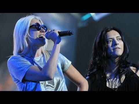 "The Voice of Poland IV - Finał - Maria Sadowska i Juan Carlos Cano - ""Bad"""