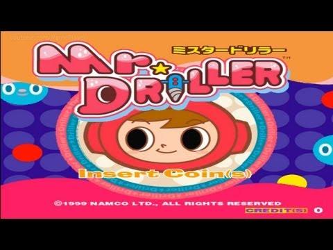 Mr. Driller 1999 Namco Mame Retro Arcade Games |