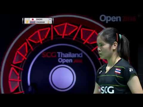 SCG Thailand Open 2016 | Badminton F M2-WS | Aya Ohori vs Busanan Ongbamrungphan
