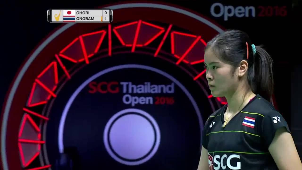 SCG Thailand Open 2016 Badminton F M2 WS