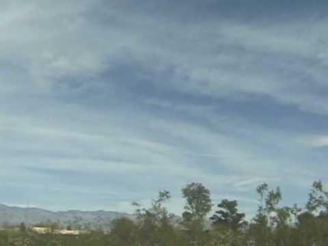 Tucson Az covered again by Chemtrails! 02/22/09