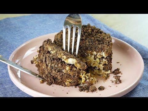 БЕЗ ВЫПЕЧКИ за 5 МИНУТ! ЭТО просто БОМБА! Шоколадный десерт. Вкусно и ПОЛЕЗНО! ТОРТ БЕЗ ПЕЧЕНЬЯ
