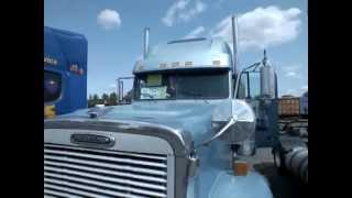 Без комментариев - Седельный тягач Freightliner Classic XL, 2004 г