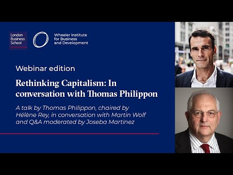 Rethinking Capitalism: In conversation with Thomas Philippon
