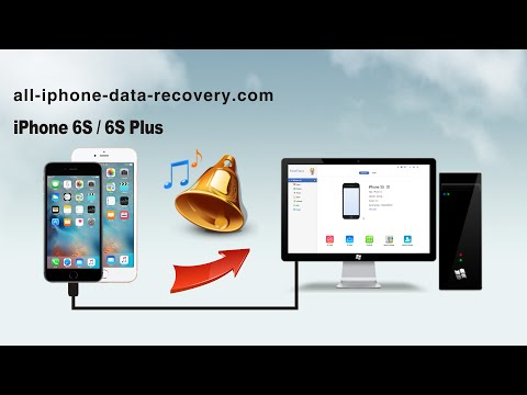 How to Backup Ringtones from iPhone 6S Plus to Computer, Export iPhone 6S Ringtones to PC