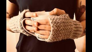 Guantes sin dedos a crochet !facilísmos!