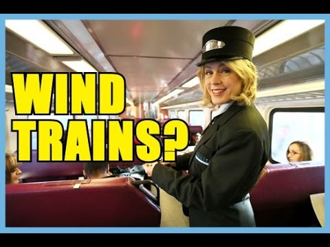 Netherlands has train powered by. . . wind? - Round Trip #6