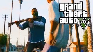 GTA 5 - Melee Combat System (Free Flowing Combat, Melee Weapons & Special Attacks) (GTA V)