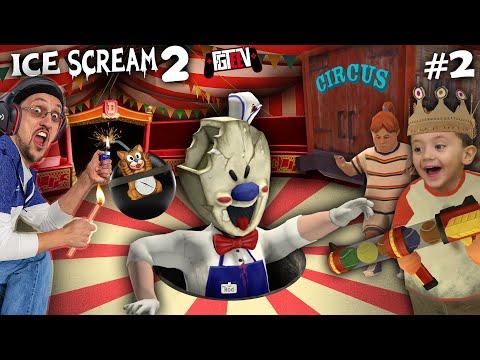 ICE SCREAM 2 - THE CIRCUS FREAK! (FGTeeV Escapes ROD Again!)