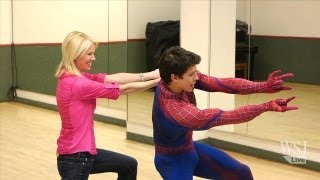 Repeat youtube video Secrets to Broadway Spider-Man's Stunts