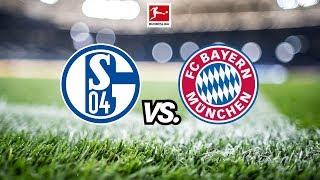 S04 vs. FCB # Bundesliga Spieltag 2
