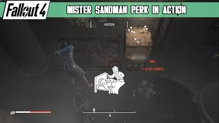Fallout 4 - Mister Sandman Perk in Action