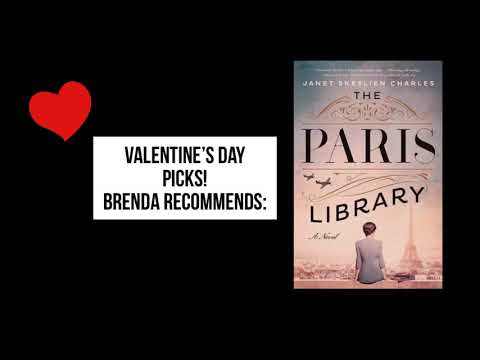 Brenda recommends The Paris Library by Janet Charles