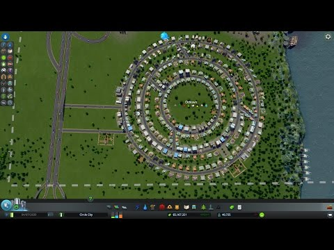 Cities: Skylines - Circle City - Part 1: Starting Out (0-2,000 population)