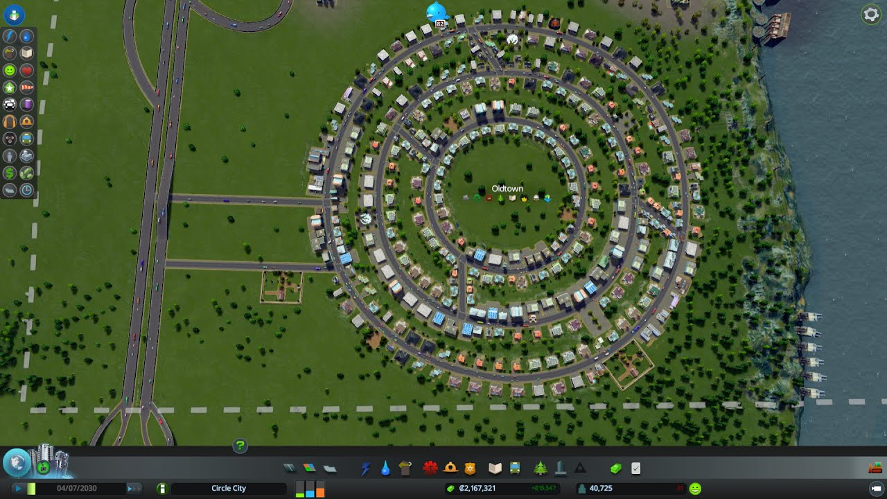 How To Build Good Interchanges Cities Skylines