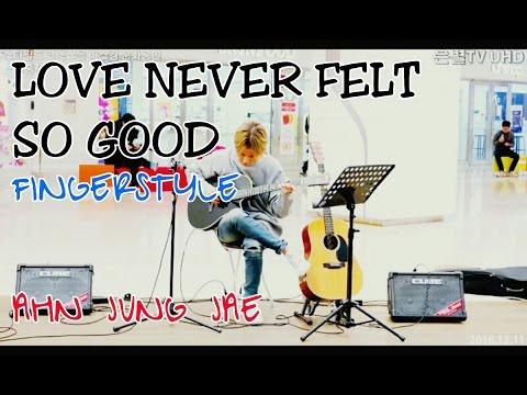 Love Never Felt So Good - Guitar by Ahn Jung Jae