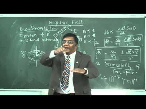 XII_26.Magnetic field, Bio Sawarts Law (2013).mp4