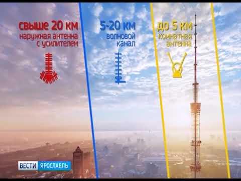 Ярославская область перешла на цифровое вещание