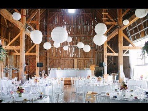 Rustic Barn Wedding Decor