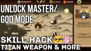 [Update] Shadow Fight 2!! Unlock Master Mode And God Mode, Get Titan Weapon/Skills!!