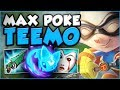 WTF?? ONE TEEMO Q DOES HOW MUCH DAMAGE?! NEW MAX POKE TEEMO TOP GAMEPLAY SEASON 8! League of Legends