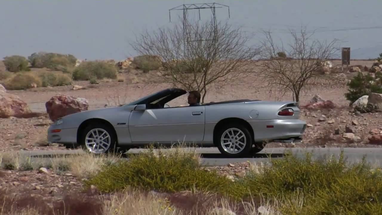 2000 chevrolet camaro z28 convertible test drive viva las vegas autos youtube. Black Bedroom Furniture Sets. Home Design Ideas